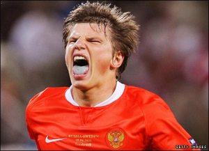 Arshavin, striker Rusia yang laris diminati pasar Inggris