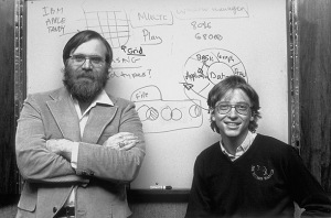 Bill Gates dan Paul Allen