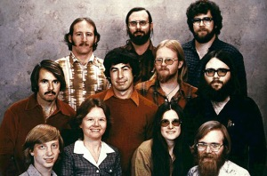 bill gates dan karyawan pertamanya di Microsoft corp